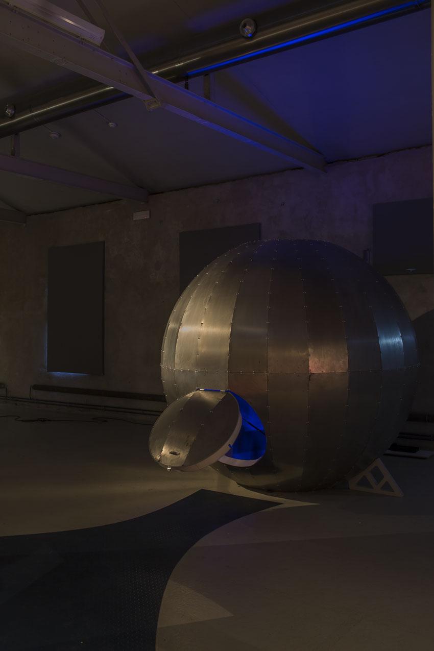 Batysfären -en interaktiv ljudinstallationavGoran Kajfes och David Österberg.