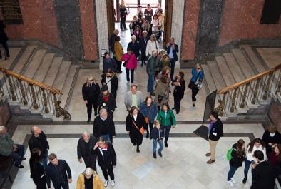 Entrén i Nationalmuseum