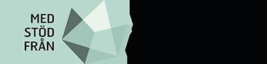 Med stöd från Allmänna arvsfonden - logga